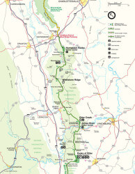 Blue Ridge Parkway Maps on map of blue ridge parkway in virginia, map of bluegrass parkway, road maps of muhlenberg county ky, map of i-75 in ky, city of campton ky, map of i-65 in ky, mountain towns in ky,
