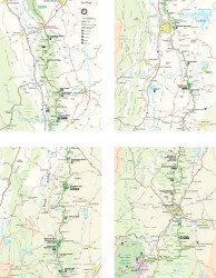 Blue Ridge Parkway Map (All Pages)