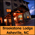 Brookstone Lodge in Asheville NC, MP 385 along the Blue Ridge Parkway