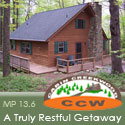 Cabin Creekwood Rentals along the Blue Ridge Parkway in Virginia