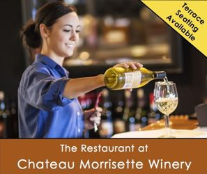 Chateau Morrisette Winery and Restaurant Milepost 171.5 on the Blue Ridge Parkway