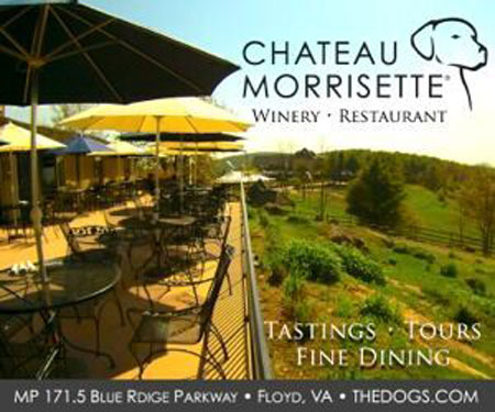 Chateau Morrisette Winery & Restaurant in Floyd, VA