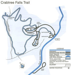 Crabtree Falls Trail Map