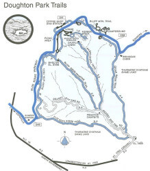 Doughton Park Trails Map