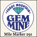 Foggy Mountain Gem Mine at Milepost 291 on the Blue Ridge Parkway