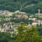 Appalachian State University in Boone, NC