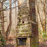Chimney Ruins in the Woods