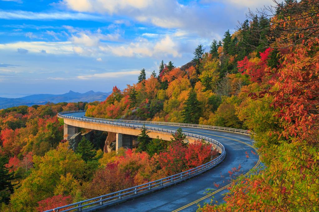 Linn Cove Viaduct - Blue Ridge Parkway (U.S. National Park Service)