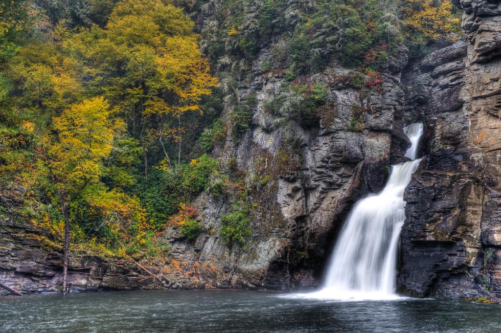 Waterfalls Of The Blue Ridge Parkway
