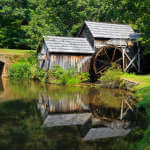 Mabry Mill and its Reflection