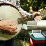 Old-time Banjo meets New-tech Mic