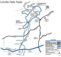 Linville Falls Trails Map