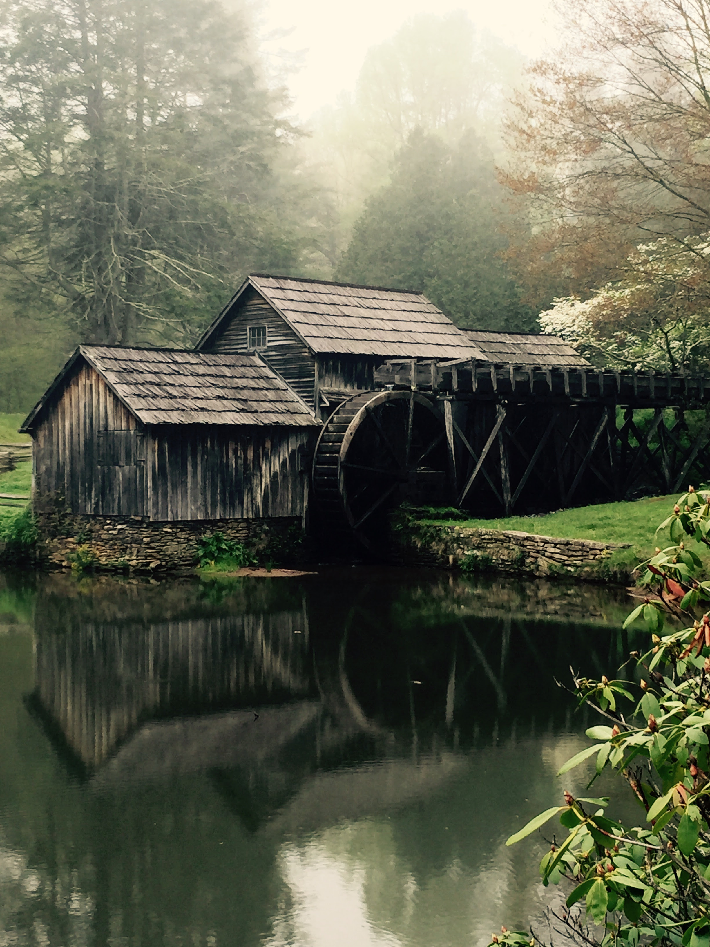 Historic Mabry Mill Blue Ridge Parkway Milepost 176 1