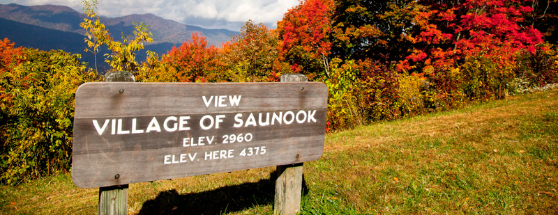 Village of Saunook Overlook, Milepost 440