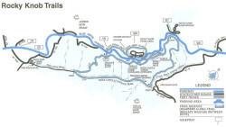 Rocky Knob Trails Map