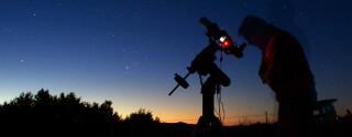 Stargazer's Silhouette
