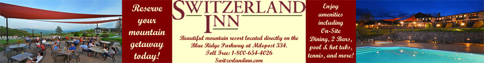 Switzerland Inn at Milepost 334 on the Blue Ridge Parkway