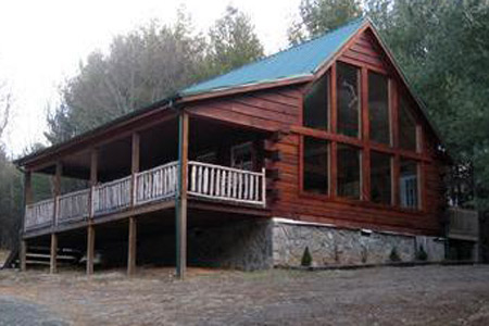 Mountain Breeze Log Cabin
