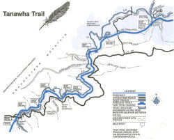 Tanawha Trail Map