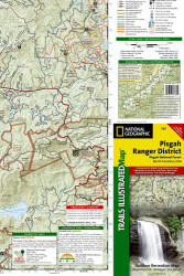 National Geographic Area Trails Illustrated Maps