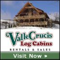 Valle Crucis Log Cabin Rentals along the Blue Ridge Parkway