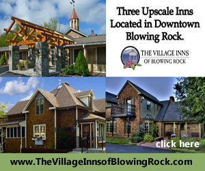 The Village Inn of Blowing Rock, NC off Milepost 291 on the Blue Ridge Parkway