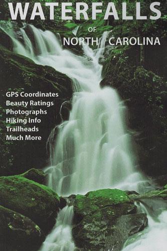 Waterfalls Of North Carolina Map